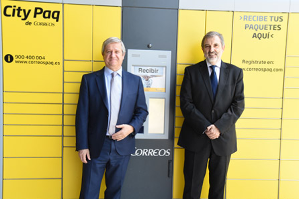 Telefónica amplia el servicio CityPaq de Correos para empleados