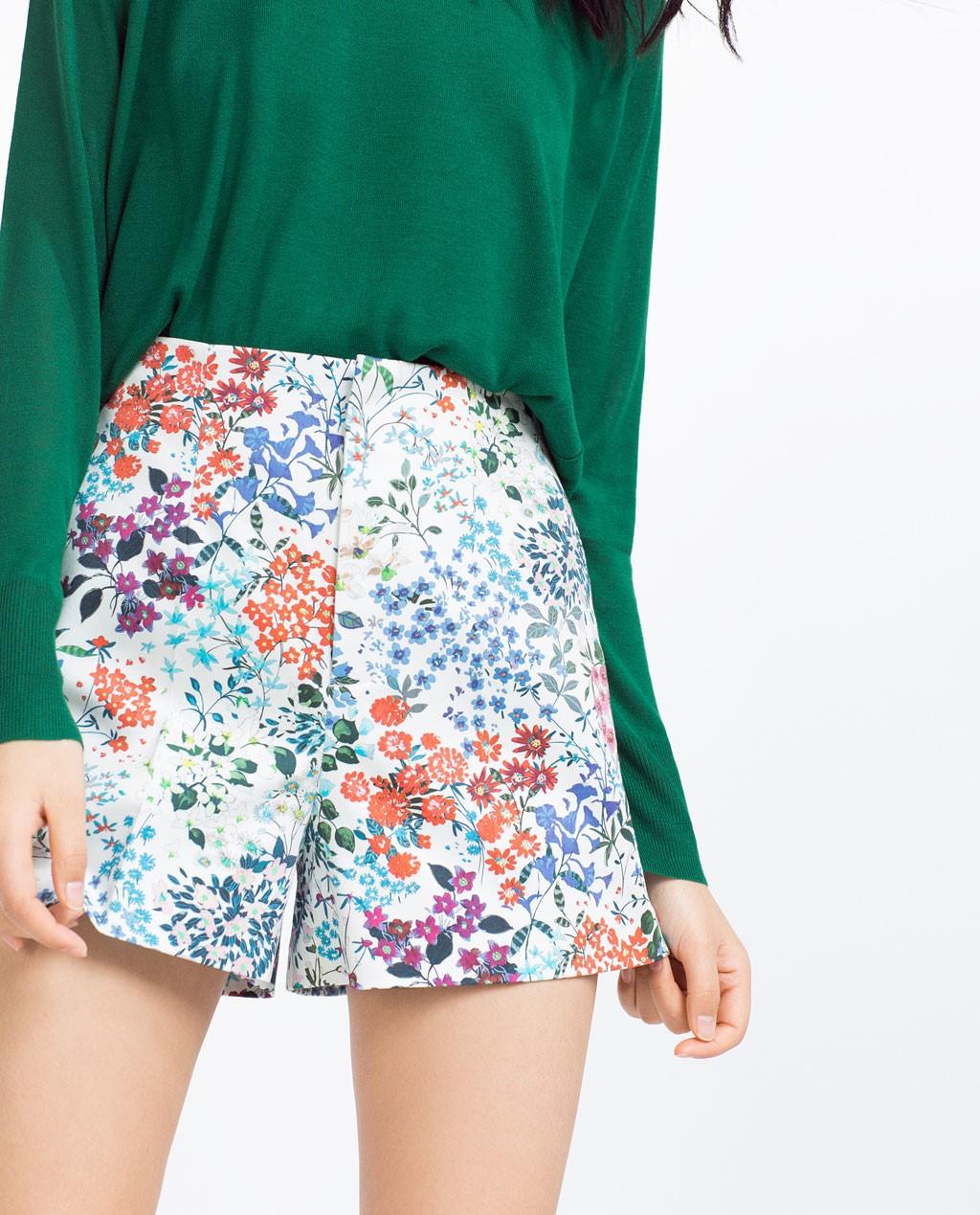 zara shorts 3