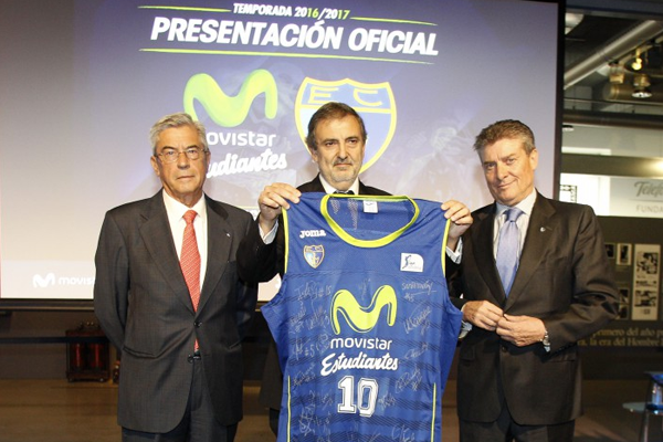 El Movistar Estudiantes arranca su temporada 2016-17