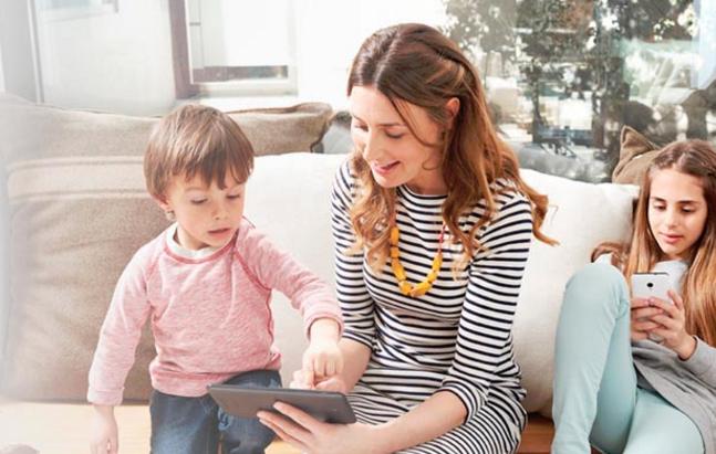 Vodafone lanza canal de TV con contenido personalizable para niños