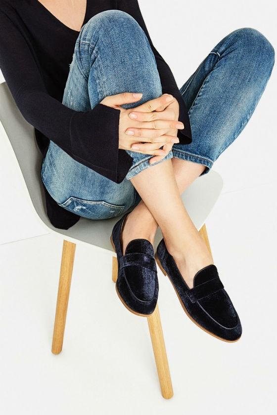 zapatos de zara - mocasines