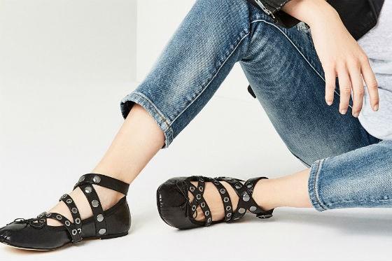 zapatos de zara - tachuelas