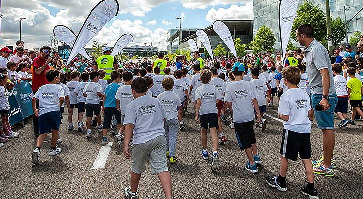 Madrid acoge el 9 de octubre la 'I Carrera Profuturo', deporte y compromiso con la educación