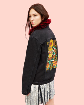 moda zara - chaqueta denim