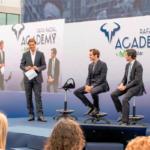 José María Álvarez-Pallete y Rafa Nadal inauguran la 'Rafa Nadal Academy by Movistar'