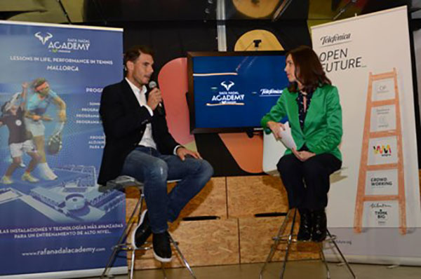 Telefónica Open Future_ y Rafa Nadal buscan emprendedores tecnológicos