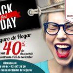 Oferta en seguros de hogar: 40% de descuento durante el Black Friday en Mutua de Propietarios