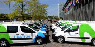 Telefónica vehículos eléctricos