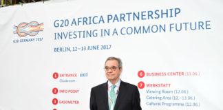 D. César Alierta - G20 Africa Conference Berlin 2017