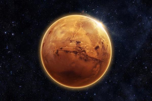 Marte planeta rojo