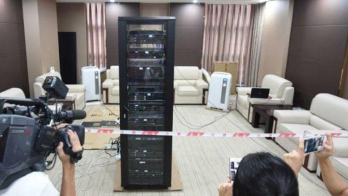 Robot selectividad China