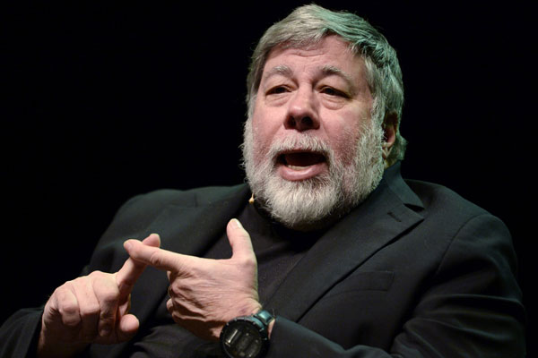Wozniak, cofundador de Apple.