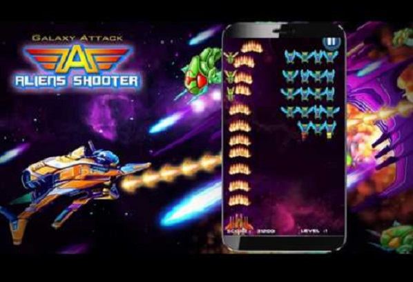Galaxy Attack Alient Shooter