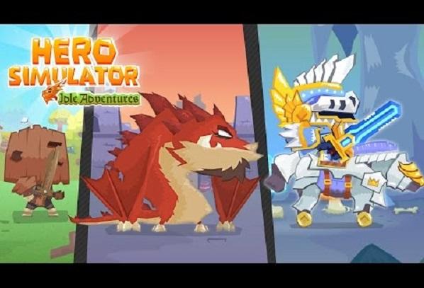 Juego de rol Hero Simulator