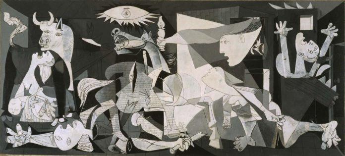 Guernica. Obra de Picasso. Museo Reina Sofía