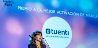 Premio Fest activación de marca Tuenti