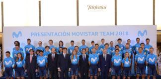 Movistar Team 2018. Telefónica