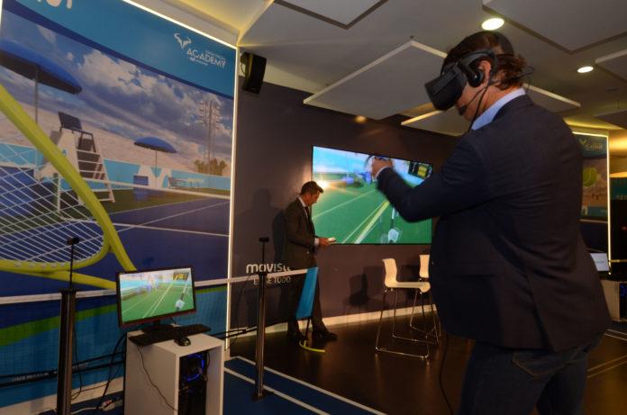Telefónica juego realidad virtual Rafa Nadal