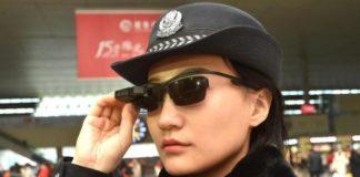 gafas policia china