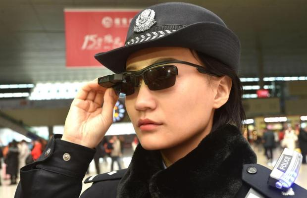 gafas policia china