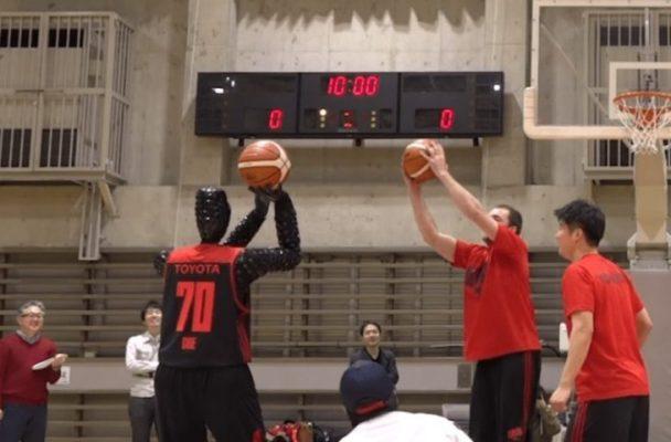 robot baloncesto toyota