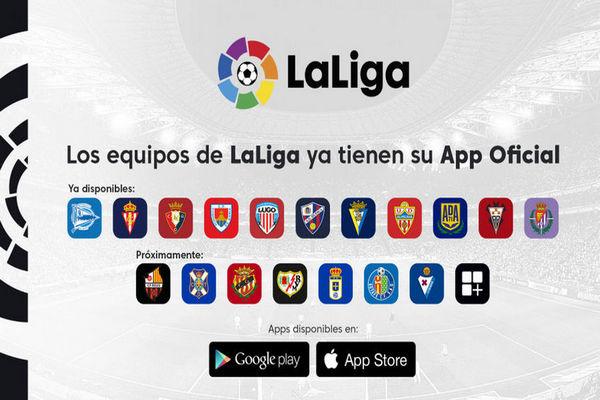 LaLiga ha creado una app para clubes de Primera y Segunda División