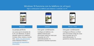 Windows actualiza app Tu teléfono para facilitar conexión con Android