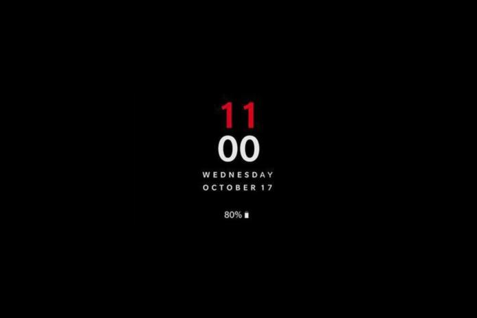 OnePlus 6T 17 de octubre