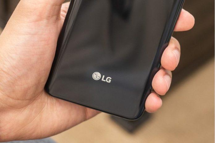 LG móvil plegable CES 2019