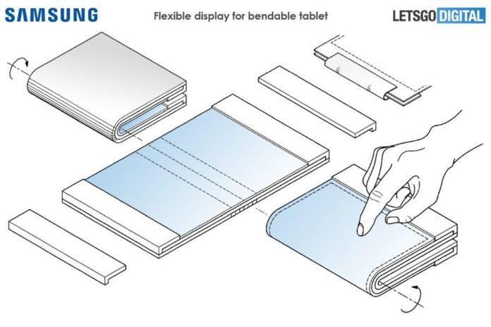 Samsung tablet plegable