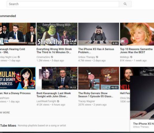 YouTube Mini Reproductor