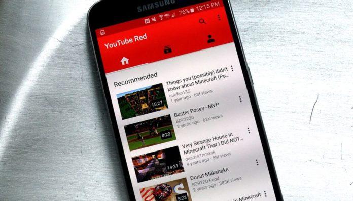 YouTube móviles recomendados