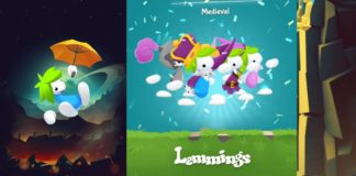 Lemmings juego iOS Android