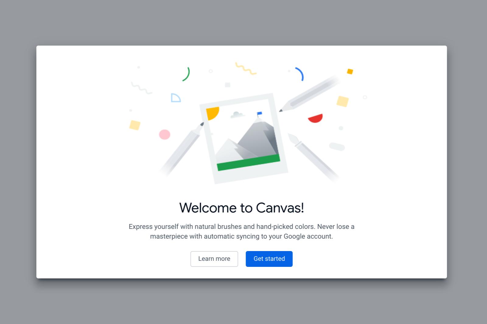 Una web app original, minimalista y divertida — Google Canvas