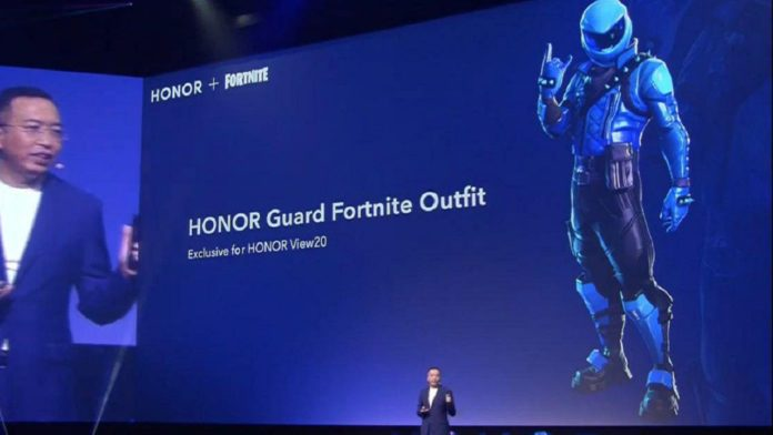 Honor View 20 Fortnite