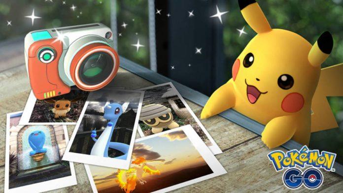 Modo Foto Pokémon GO Android
