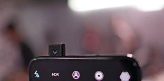 Samsung Galaxy A90 cámara retráctil