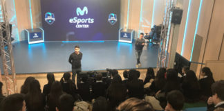 movistar esport center visita colegios