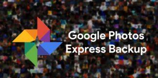 Google Fotos copias de seguridad Express