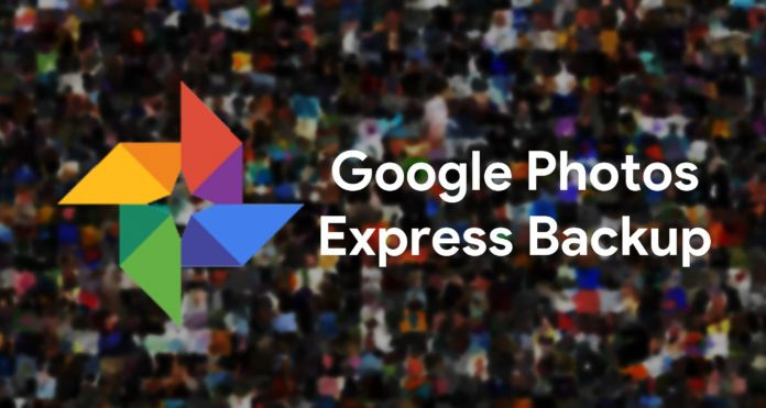 Google Fotos copias de seguridad Express