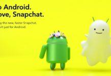 Actualización Snapchat Android