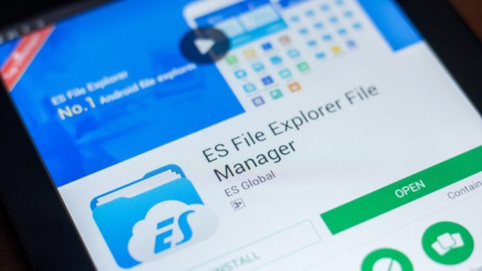 ES File Explorer eliminado Google Play Store