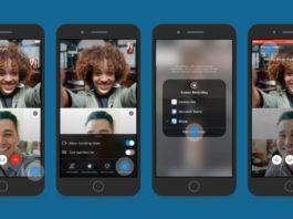 Skype compartir pantalla iOS Android