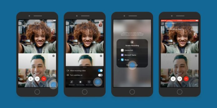 Skype compartir pantalla iOS Android