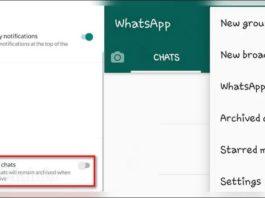 WhatsApp ignorar contactos