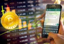 WhatsApp enviar Bitcoins