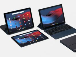 Google tablets Android Chrome OS