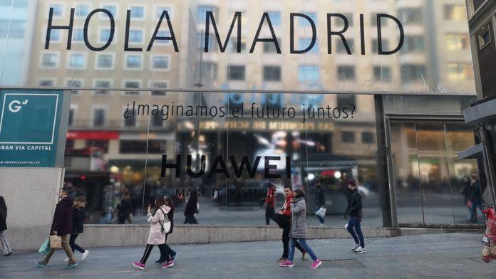 Huawei mayor tienda España