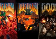 trilogía DOOM PS4 Switch Xbox One