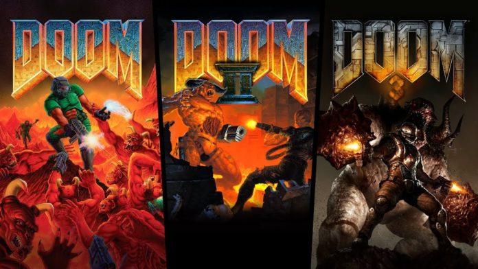 trilogía DOOM PS4 Switch Xbox One